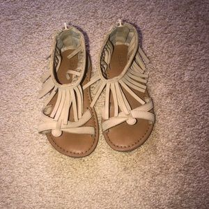 Gap suede sandals worn once